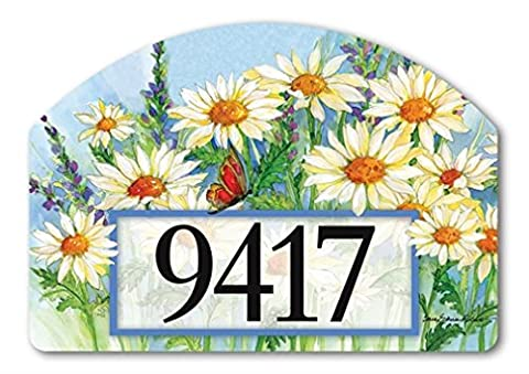 YardDeSign Shasta Daisies Yard Sign 71271 - Magnetic Yard