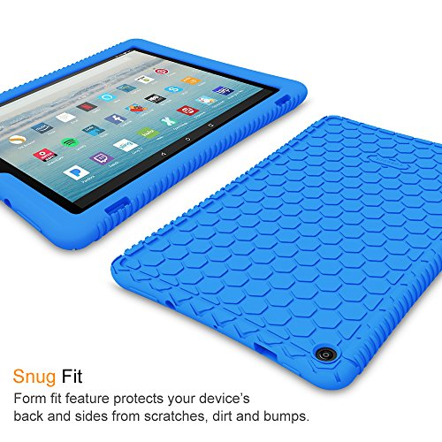 ed49f550f3c Fintie Silicone Case for All-New Amazon Fire HD 10 Tablet (7th - Import It  All