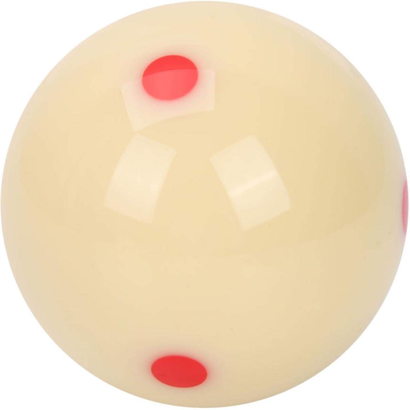 balles de Billard dentra/înement /à Points Rouges Qukaim Balle dentra/înement de Billard en r/ésine de 5,72 cm