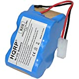 HQRP 7.2V Battery for Euro-Pro Shark V1945Z XB1945W XB1946W 2-Speed Cordless Sweeper #XB1946W XB1946 V1945 + Coaster