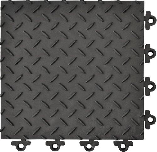 Modular Anti Fatigue Mat (Modular Antifatigue Mat, Blk, 12
