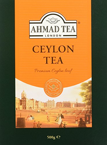 - Ahmad Tea of London : Ceylon Tea (loose tea) 500ge/17.6 oz.
