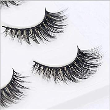 1b2124613ff Amazon.com : Sexy 100% Handmade 3D Mink Hair Beauty Thick Long False Mink  Eyelashes Fake Eye Lashes Eyelash 3D-Z05 : Beauty