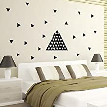 Silly Geometry Triangle Wall Stickers