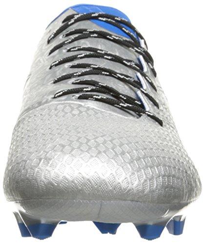 adidas Messi 16,3FG Fútbol cornamusa Silver Metallic/black/shock Blue Silver