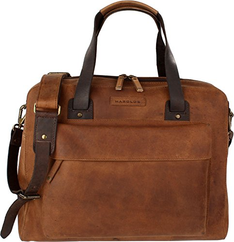 Harold's Businessbag Antik natur
