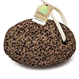 Natural Earth Lava Pumice Stone for Foot Callus by Zenda Naturals - Premium Callus Remover for Feet and Hands - Pedicure Tools, Exfoliation to Remove Dead Skin - Natural Foot File