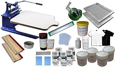 1 Color Screen Printing T-shirt Hobby Kit-006949