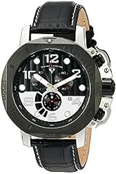 Swiss Legend Men's 10537-01-BB-SP Scubador Analog Display Swiss Quartz Black Watch
