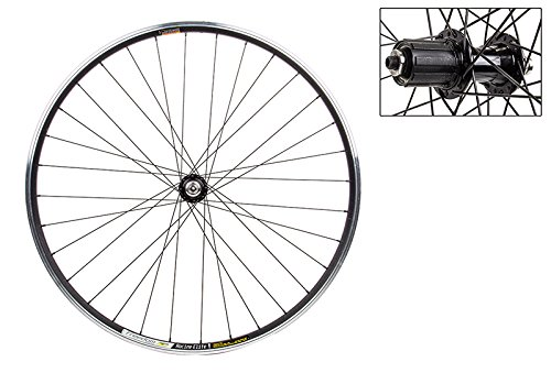 WheelMaster Rear Bicycle Wheel, 700 WTB FREEDOM RACINE ELITE BK MSW 32 WM ALY 8/10sp CASS BK 130mm DTI2.0BK by WheelMaster