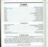 13, Opening Night Broadway Playbill + Ariana