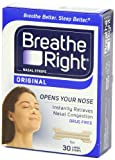 Breathe Right Nasal Strips, Large,tan, 30-count