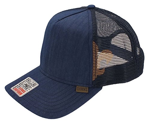 Fitted Cap 2014 DJINNS Trucker Linen navy High xYqww5UCvI
