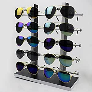 Amazon.com: Wood Sunglass Glass Rack Frame Glasses Display