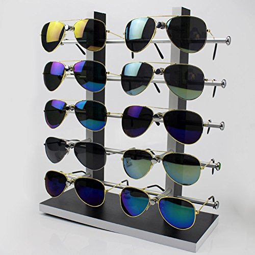 Wood Sunglass Glass Rack Frame Glasses Display Stand Holder Organizer - Sunglass Display
