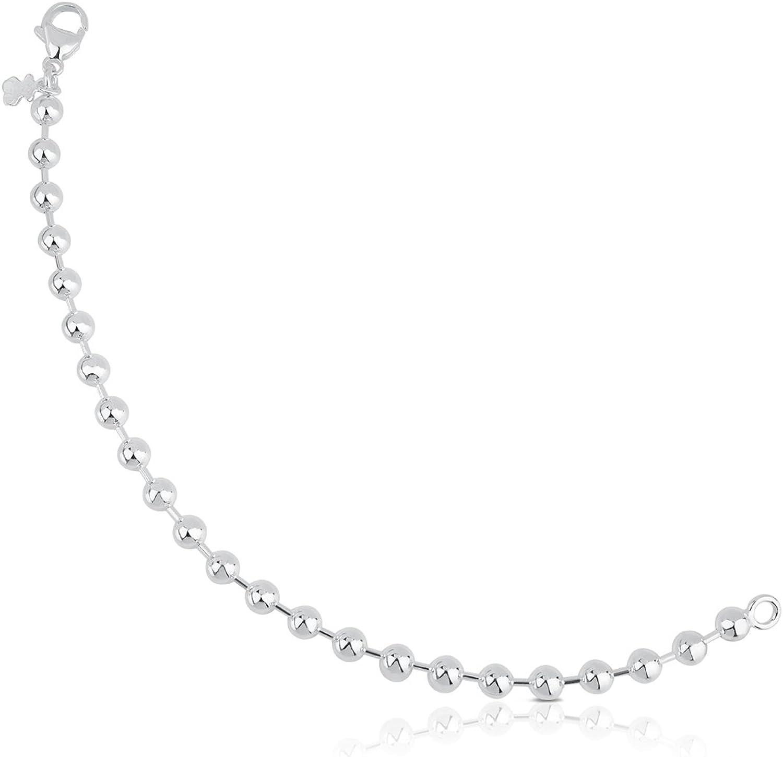 Pulsera TOUS Bracelets en plata de primera ley. Largo: 18 cm. motifo: 0,5 cm