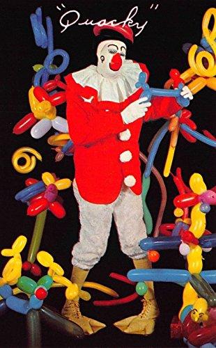 - Advertising Postcard Quacky Duck Magical Balloon King Clown Toledo, Ohio~118317