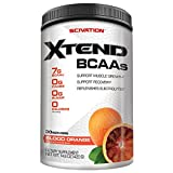 Scivation Xtend BCAA Powder, Branched Chain Amino Acids, BCAAs, Strawberry Kiwi, 90 Servings