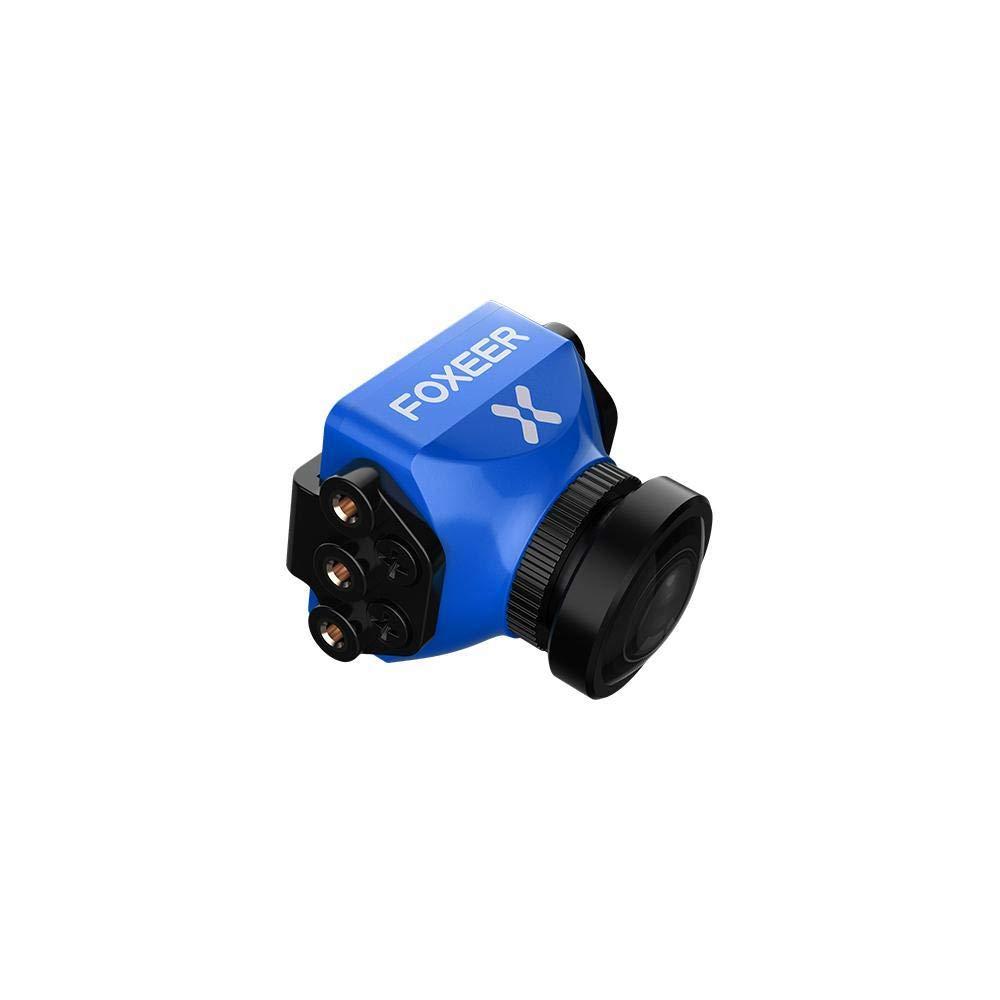 Faironly V3 Racing 全天候型カメラ 16:9/4:3 PAL/NTSC切り替え可能 Super WDR OSD 4ms レイテンシーリモコン YWQ-20181205WJ-A-525 B07L5B41YG Blue 1.8mm Blue 1.8mm
