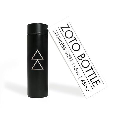 Yoga Design Lab LA Botella ZOTO Botella de Agua Aislada de Acero Inoxidable con Filtro de Infusión de Té/Fruta | ¡Diseñada para Mantener los Líquidos ...