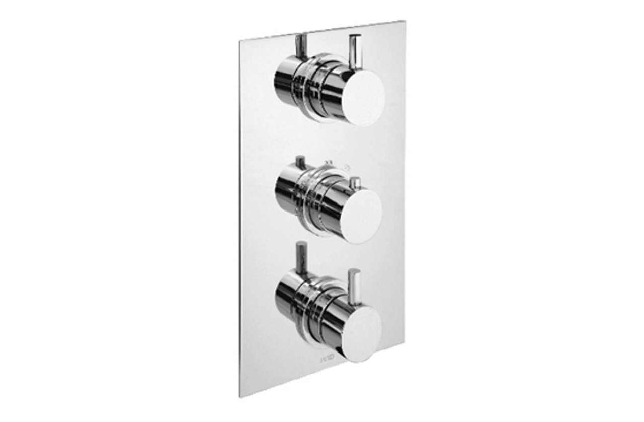 Cifial 221.505.625 Techno 500 Trim Plate Only Polished Chrome CIF-SP