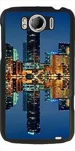 Funda para Htc One Sensation XL G21 - Horizonte De Miami En La Noche by Carsten Reisinger