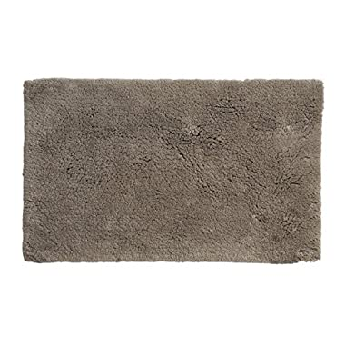 Grund Bath Rugs, Certified 100% Organic Cotton, Non Skid, Bath Mat, Namo Spa Series, 17-Inch by 24-Inch, Taupe