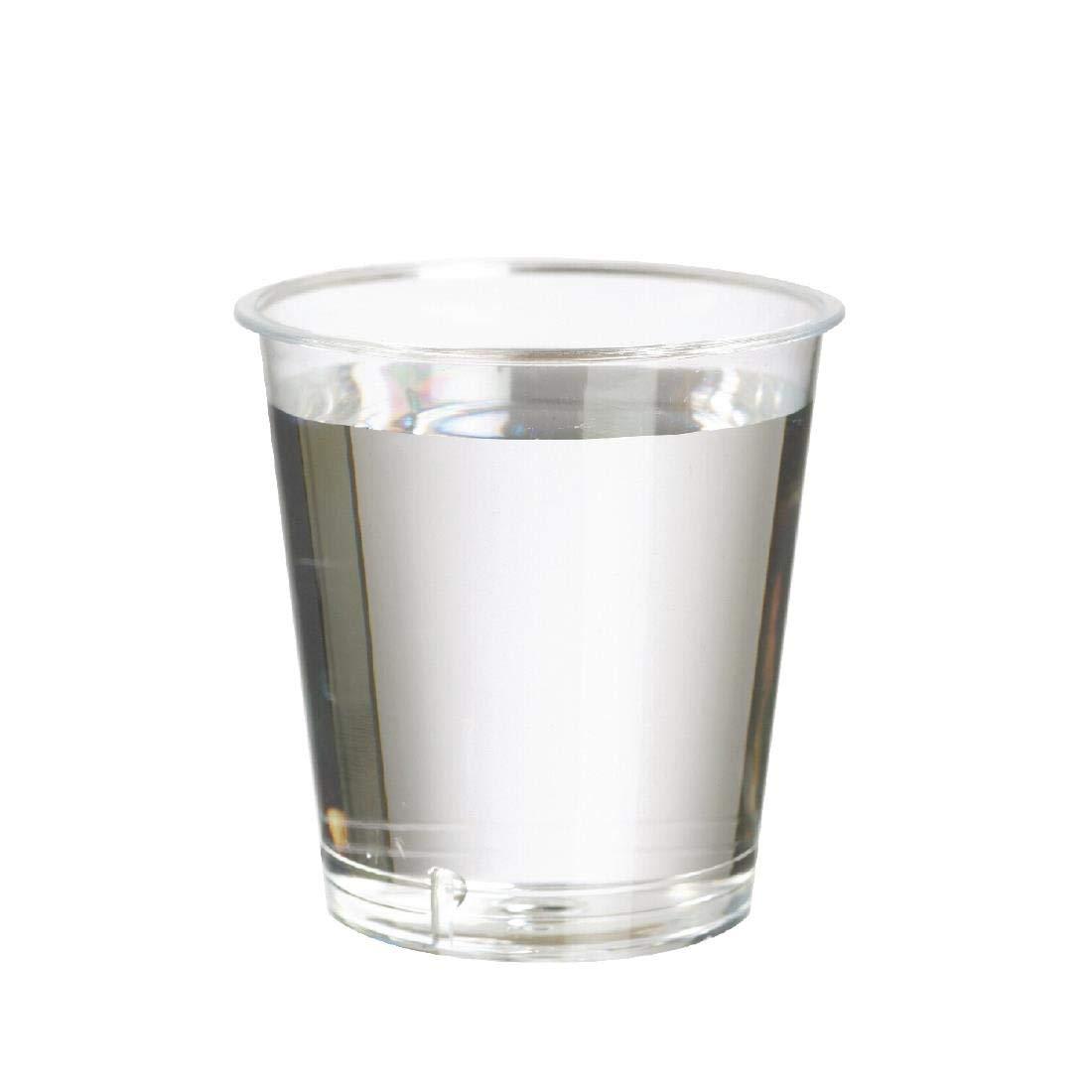 Paquete de: 1000 Vaso de chupito desechable Plastico