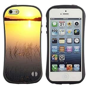 Suave TPU GEL Carcasa Funda Silicona Blando Estuche Caso de protección (para) Apple Iphone 5 / 5S / CECELL Phone case / / Sunset Beautiful Nature 76 /
