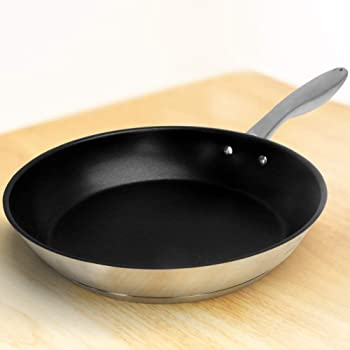 HOMICHEF 9.5 Inch Omelette Pan