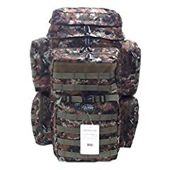"""PRODUCT DETAILS Capacity: 3200 cu. in. Dimensions & weight: 24""""(Height) x 12""""(Width) x 10""""(Depth) 4 lbs 8 oz empty (Approximated weight) Compartments & Pockets: 2 main compartments 2 front pockets with heavy-duty webbing lines 2 side ..."""