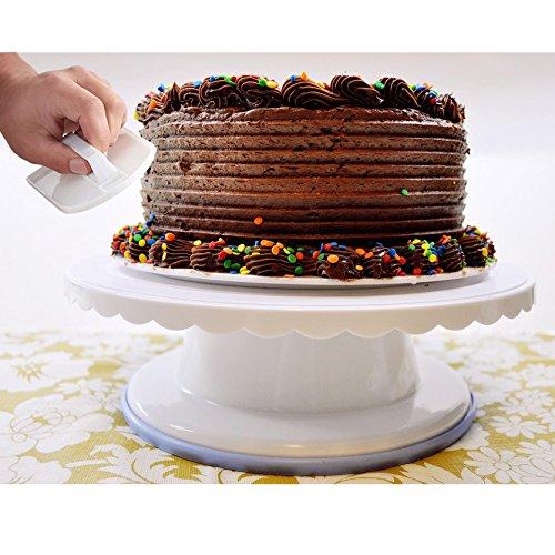 galvanized cake pedestal - 9