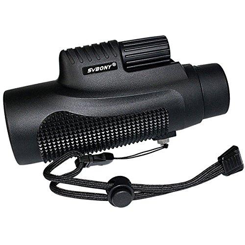 SVBONY SV11 8x42 Shooting Monocular IPX7 Waterproof Compact Monocular Fast Focus Monocular Scope