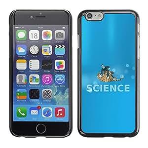 EJOY---Cubierta de la caja de protección la piel dura para el / iPhone 6 / --Ciencia Lucha