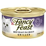 Purina Fancy Feast Grilled Beef Feast in Gravy Adult Wet Cat Food - 3 oz. Can