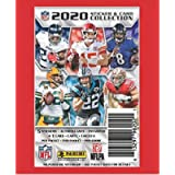 10 PACKS: 2020 Panini NFL Football Sticker Collection pack (5 stickers/1 trading card per pk)