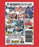 20 PACKS: 2020 Panini NFL Football Sticker