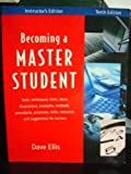 Becoming a Master Student, Dave Ellis, 0618209085