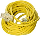 ATE Pro. USA 70059 Extension Cord, 50', 10 Gauge, 3-Prong