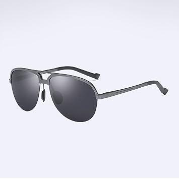 Z&HA Gafas De Sol Polarizadas para Hombres Gafas De Aviador De Magnesio Ultra Livianas Gafas De