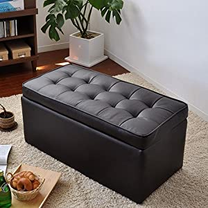 ボックスベンチ 長椅子 収納付スツール 収納ボックス ローチェア