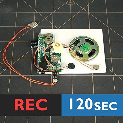 120s w LINE IN port PUSH BUTTON record device voice module music box sound - Sound Module Recordable