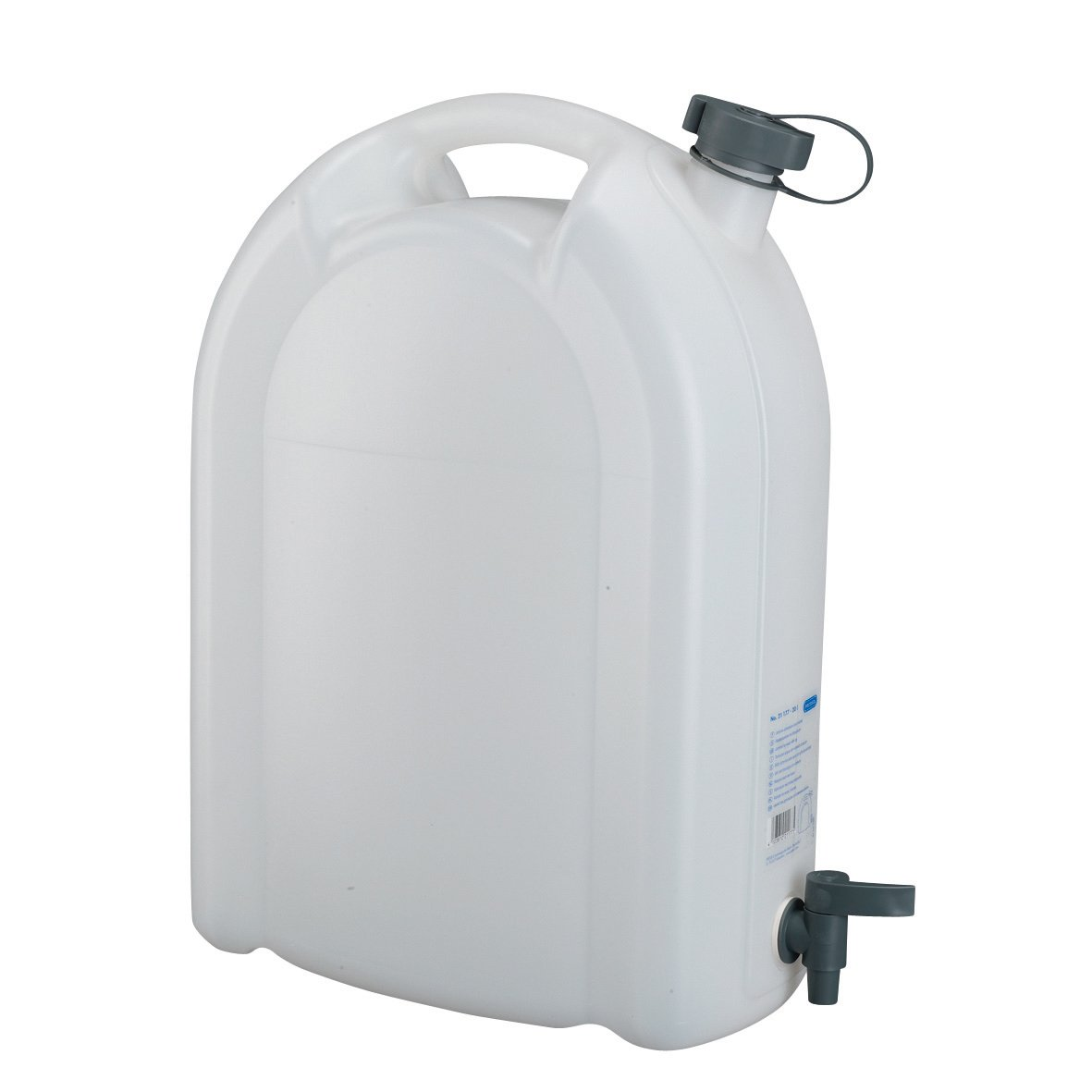 Brand New SHOW TIME 15L 15 Litre Clear Plastic Jerry Can Jerrycan with Tap