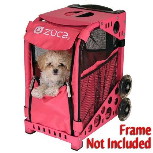 Zuca PIBHP205 Sport Zuzuca Pet Carrier Insert Bag Hot Pink 89055900205 by ZUCA