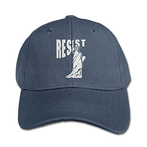 Elephant AN Resist Statue Of Liberty Pure Color Baseball Cap Cotton Adjustable Kid Boys Girls Hat]()