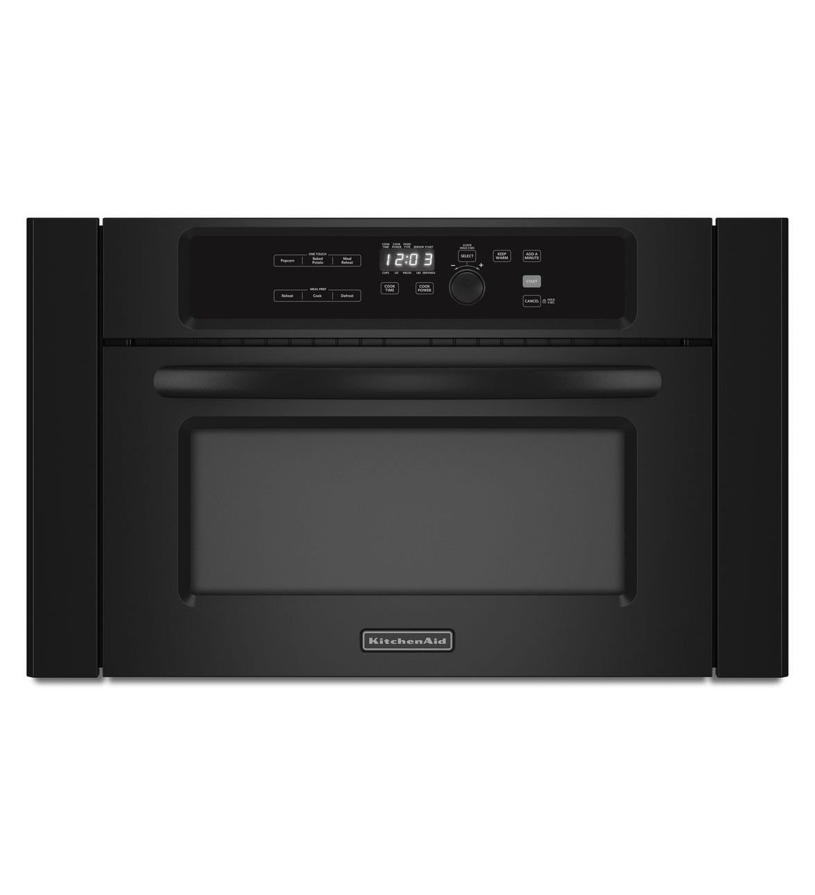 amazoncom kitchenaid kbms1454bbl architect ii 14 cu ft black builtin microwave appliances