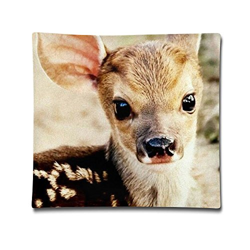 Kjaoi 1818 Inches Pillow Case Cute Deer Comfortable