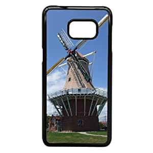 Windmill Images Ideal Phone Shell,This Shell Fit To Samsung Galaxy S6 Edge Plus