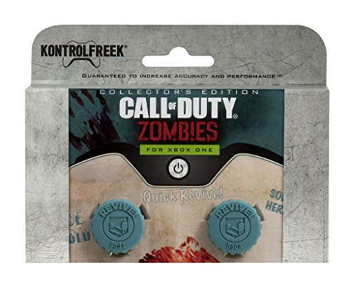 KontrolFreek Call of Duty Revive for Xbox One Controller | Performance Thumbsticks | 2 Mid-Rise Concave | Teal