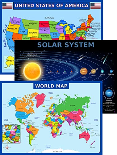 World Map Poster United